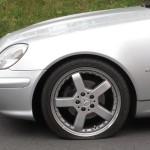 Der platte Reifen