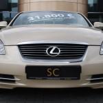 Front des Lexus SC 430