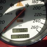 120.000 Kilometer auf dem Kilometerzähler des SLK