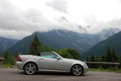 Der Roadster in den Brenta Dolomiten