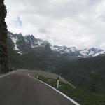 Abfahrt vom Passo Rombo auf der SS44bis