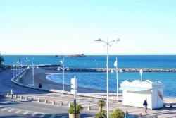 Die morgendliche Promenade von Saint Raphael