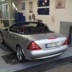 Der SLK bei Mercedes-Benz