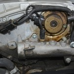 Ölverschmiertes Magnetventil am SLK R170