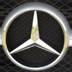Stern vom Mercedes Benz SLK